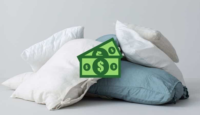 how much do pillows cost